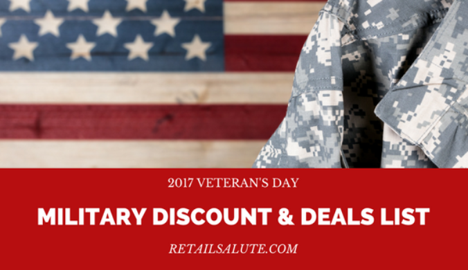 38b8875dc0 2017 Veterans Day Military Discount   Deals List – RETAIL SALUTE