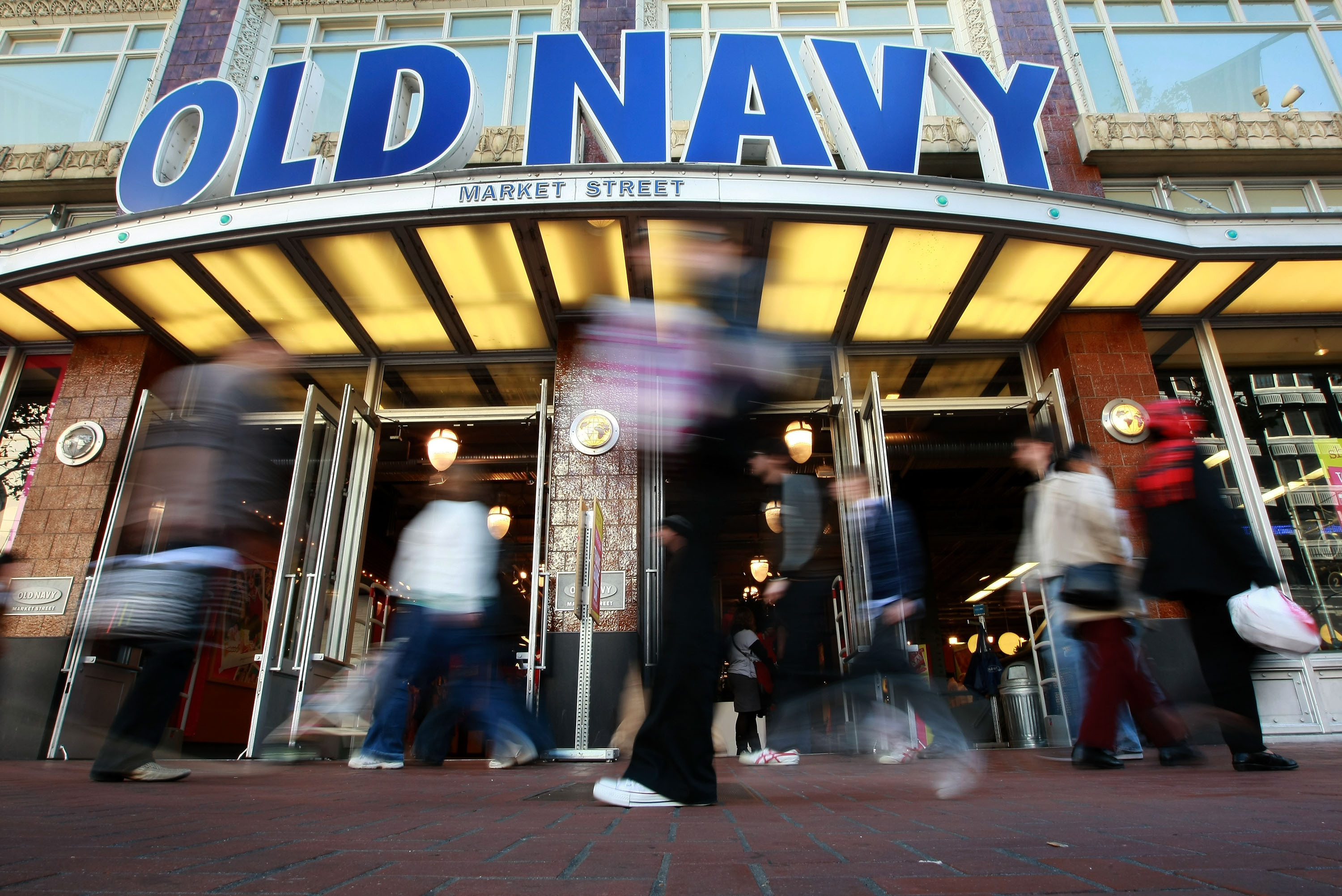 Military Mondays at Old Navy