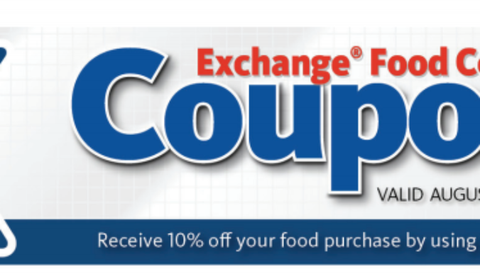 aafes coupons food court