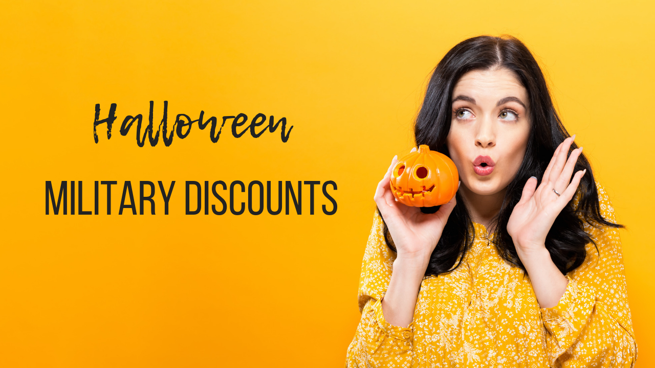 9 military discounts for halloween costumes, décor, and more