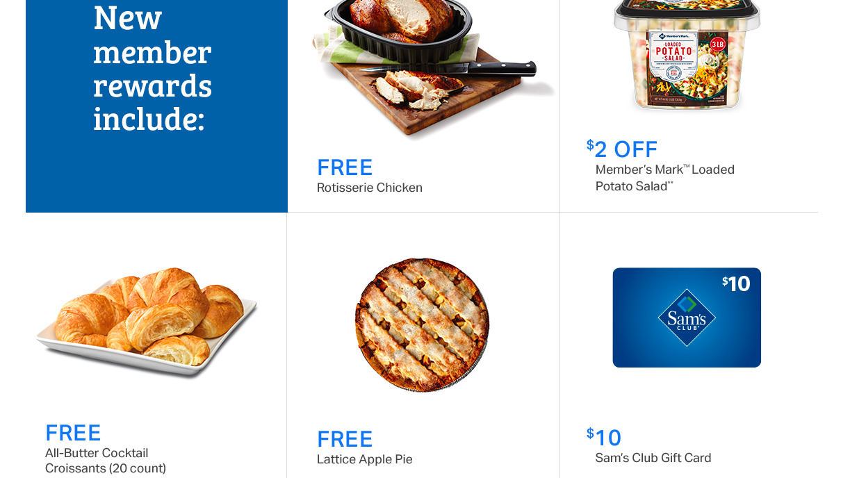 Free Gifts For Military With Sam's Club Membership