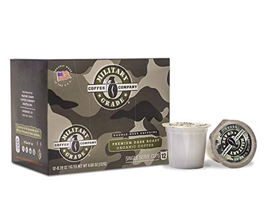 Military Grade Coffee K-Cups At Amazon
