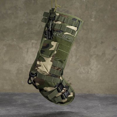 Personalized Tactical Camo Stocking $29.99