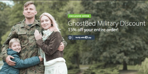 Ghostbed Mattress 15% Military Discount