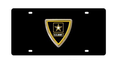 Military Branch License Plates