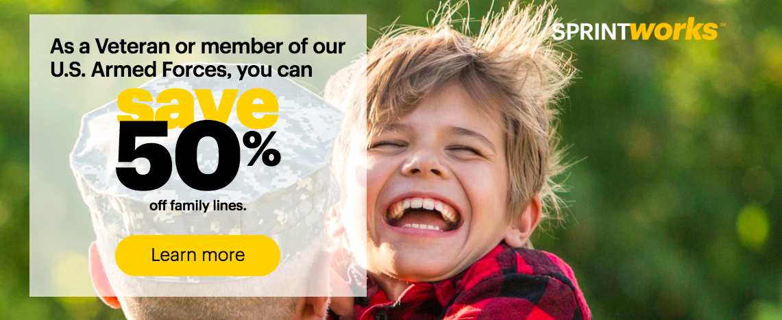 Sprint Expands Military Discount With More Perks