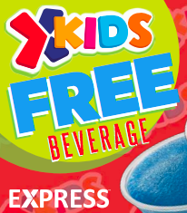 Free Fountain or Frozen Drink For Kids Military Exchange Express
